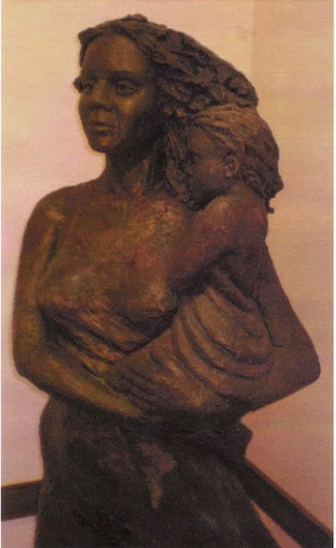 mother & child side view